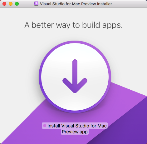 visual studio for mac kurulum