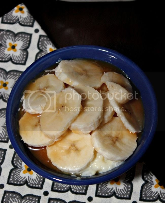 Easy Caramel Banana Rice Pudding