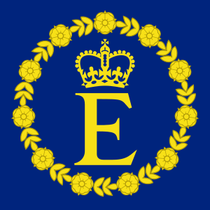 The Personal Flag of Queen Elizabeth II, used ...