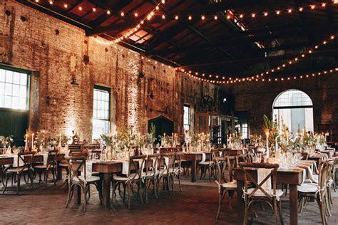 boho warehouse wedding wedding party ideas  layer