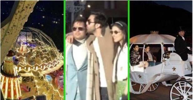 And The Pre-Wedding Ceremonies For Akash Ambani And Shloka Mehta Have Begun In Switzerland