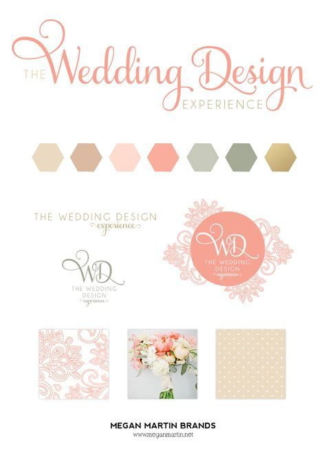 The Wedding Design Experience   Business   Branding design