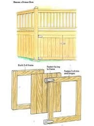 Sally: Guide to Get Storage shed skirting ideas