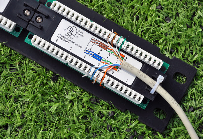 How to Wire a Patch Panel - FireFold
