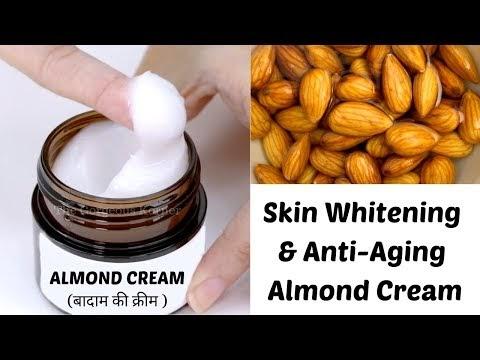 DIY Almond Cream | Skin Whitening & Anti-Aging Almond Cream