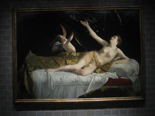 Danaë and the Shower of Gold, 1621-22, Orazio Gentileschi _7691