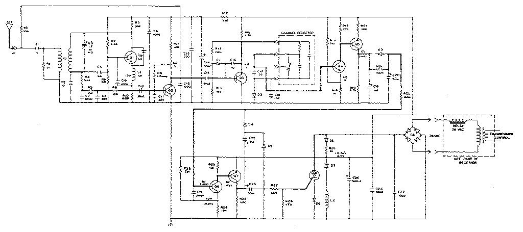 CRAFTSMAN SEARS ELECTRONIC GARAGE DOOR OPENER Parts ...