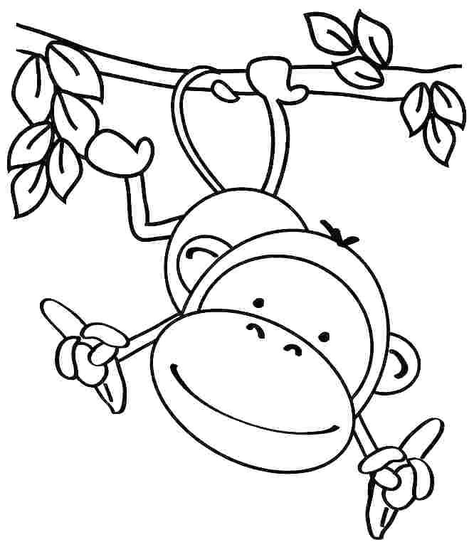 Easy Animal Coloring Pages For Kids at GetDrawings   Free ...