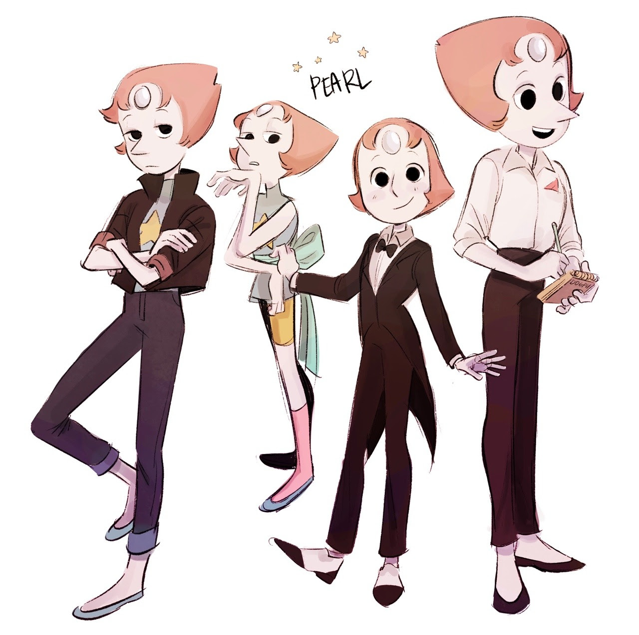 some pearls and one repressed nerd