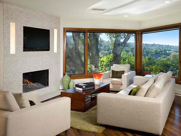 20 Amazing Fireplaces With Tv Above Fireplace Ideas