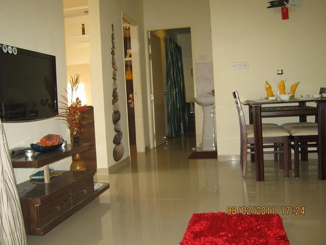 Vastushodh's Urbangram - 2 BHK Flat for Rs. 20 Lakhs - at Kondhawe Dhawade - Pune 411 023 - Construction Begins! - spacious living in the sample flat