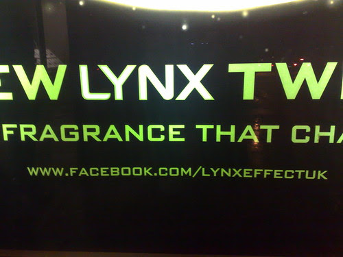 Lynx Twist Facebook Fan Page poster (close up)