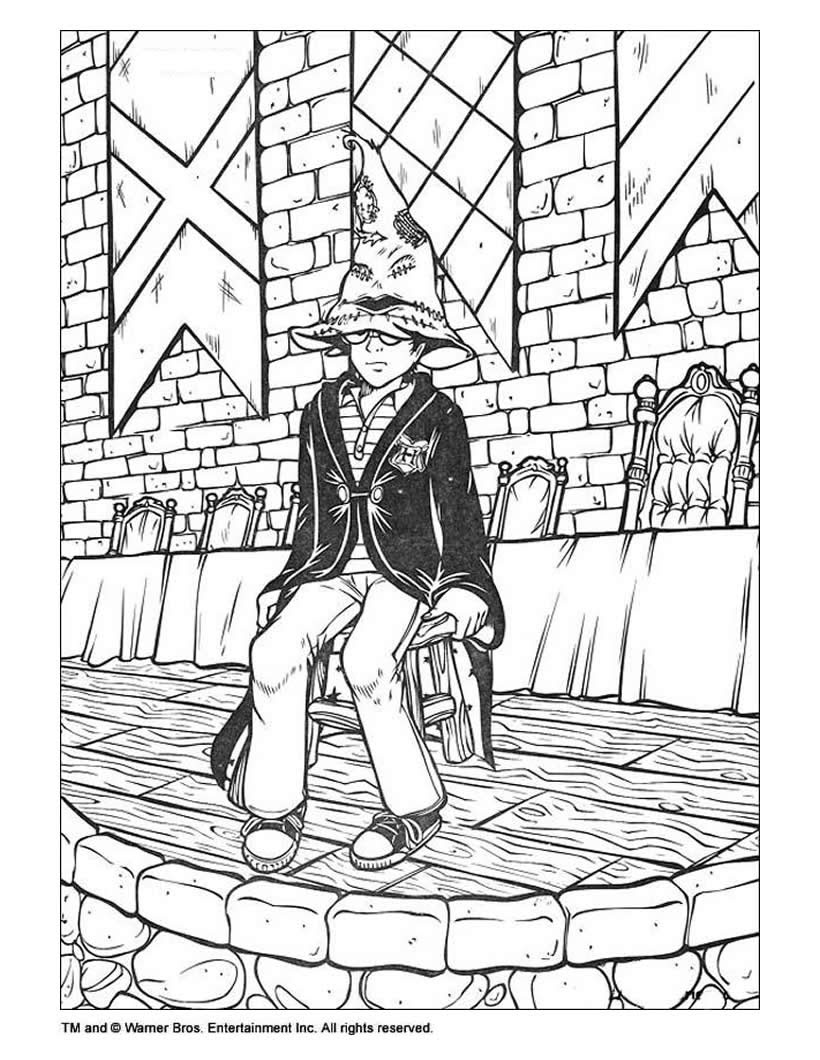 Annette Lux Free Coloring Pages Coloring Pages Harry Potter