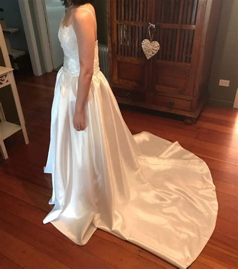 The Faded Sunflower Amsale Coco Wedding Dress   New