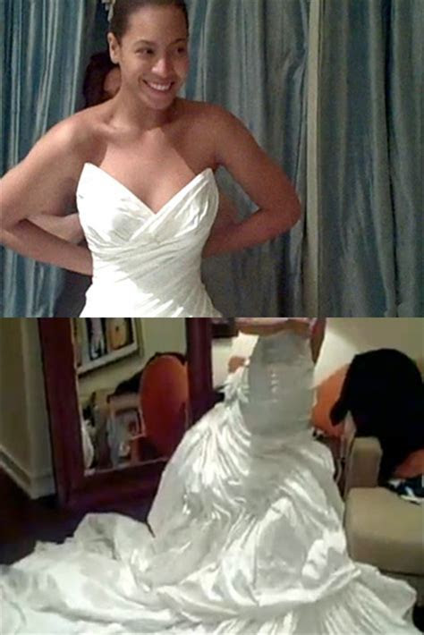 Beyonce reveals wedding dress she wore to marry Jay Z