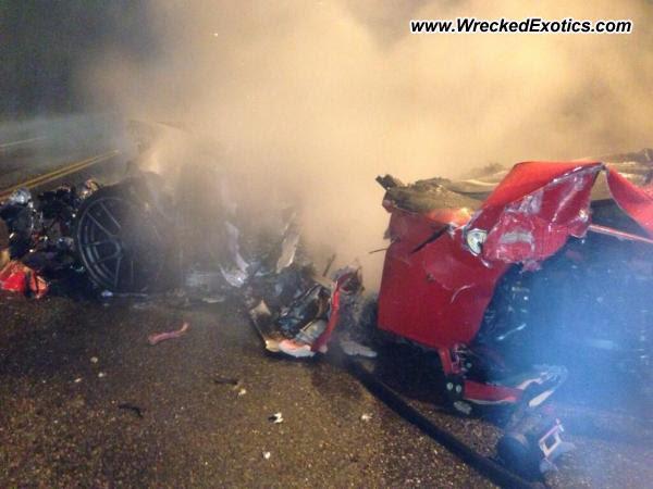 2012 Ferrari 599 GTO Crash in Santo Domingo, Dominican Republic