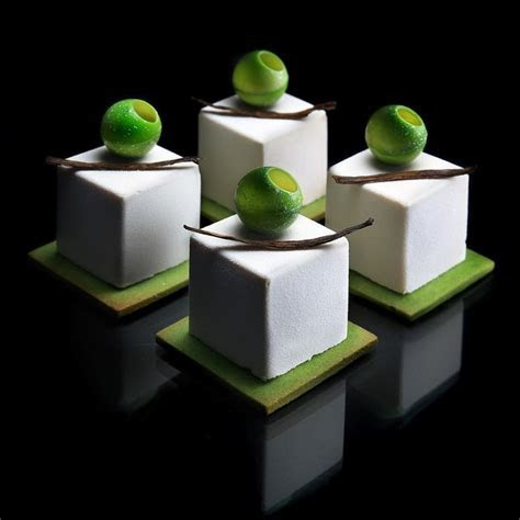 Amazing Geometrically Baking Desserts by Architectural