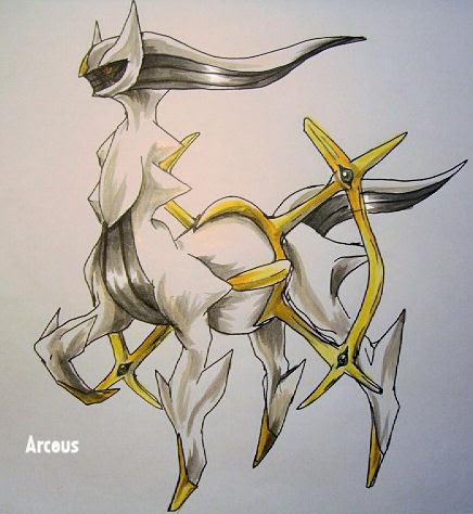 Arceus  Legendary Pokemon Fan Art 8519113  Fanpop