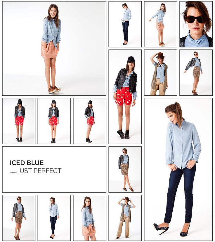 How to wear - Iced Blue