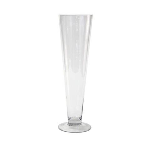 Pilsner Trumpet Glass Vase   Bouquets   Glass, Vases decor