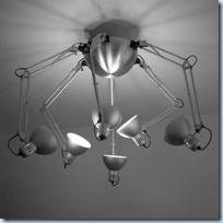 Tertial ceiling lamp