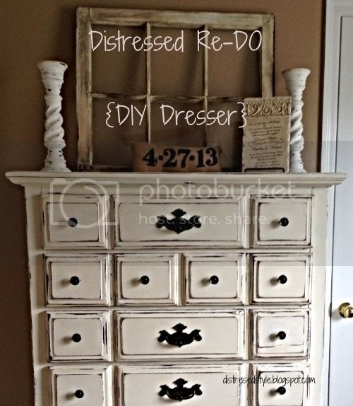 Distressed Bedroom Furniture Diy: Distressed Style: Distressed Re-Do