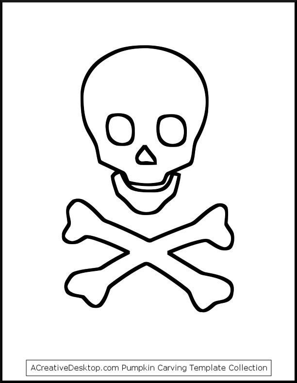 Free Skull And Crossbones Stencil Download Free Clip Art Free Clip