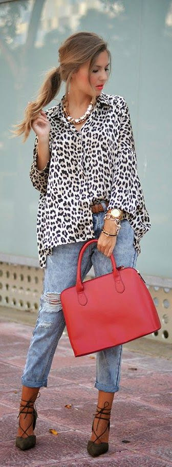 Daily New Fashion : LEOPARD PRINT