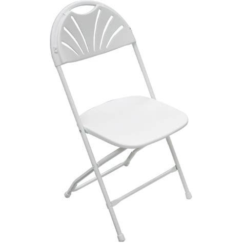 White Samsonite Chairs ? Art Pancake Party & Wedding Rental