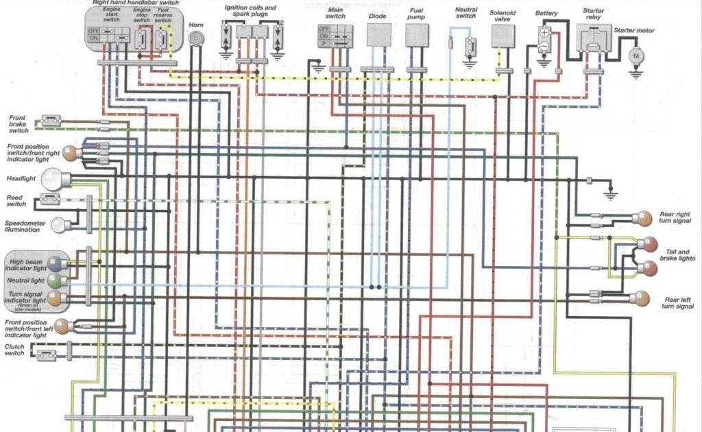 wiring diagram yamaha virago 400  way diagrams 3 wiring