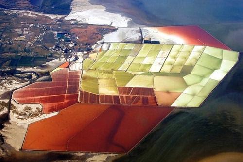 634878493301940000 Tuyệt vời sắc màu của ruộng muối ở San Francisco