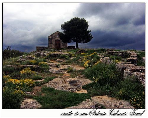 Ermita de San Antonio en Calaceite. Teruel