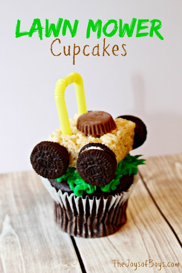 Lawn Mower Cupcakes - The Joys of Boys - HMLP 81 - Feature