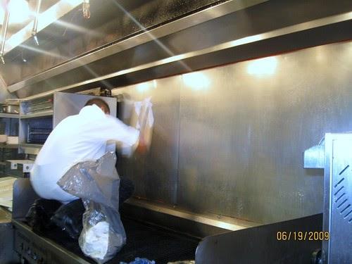 Frederick Janitorial Services Restaurant Kitchen Hood
