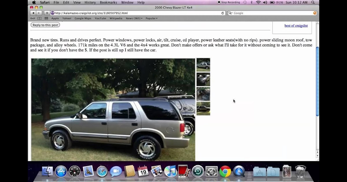Kalamazoo Craigslist Cars And Trucks By Dealer - GeloManias