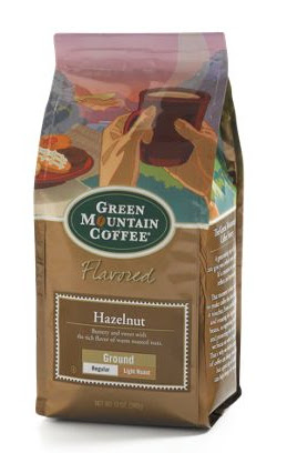 Green Mountain Hazelnut ground coffee