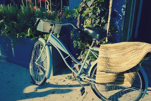 a bike in my neighborhood... by mrs. french.
