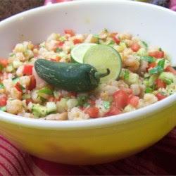 Avocado Shrimp Ceviche-Estillo Sarita Recipe