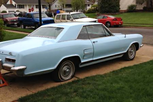 Baby Blue 1963 Buick Riviera