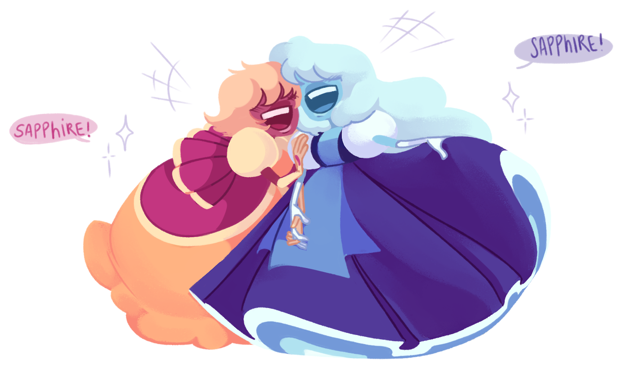 """💙 SAPPHIRE! 💛 Let's call Padparadscha just """"pad"""" PLEASE GUYS! GUYS! I LOVED EVERY EPISODE!! PAD IS PERFECT, SHE ALWAYS MAKES ME LAUGH! I LOVE HER SO MUCH, SHE'S SO SWEET, SHE MUST BE PROTECTED. I..."""