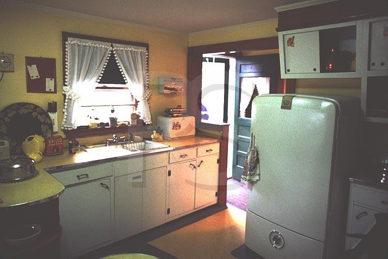 50s kitchen cabinets
