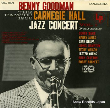 GOODMAN, BENNY carnegie hall jazz concert vol.1