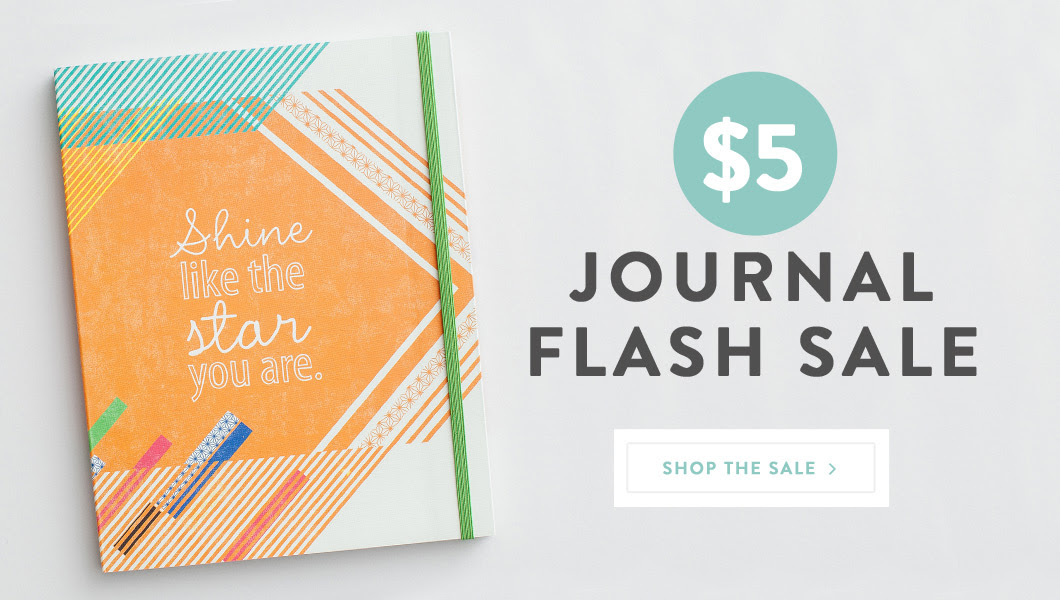 Journal Flash Sale Banner 1