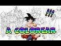 Dibujos Para Imprimir Y Colorear De Dragon Ball Z