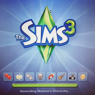Day37 played the Sims, it's been forever 2.6.13