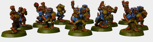 Skaven Bloodbowl team