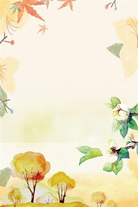 Small Fresh Autumn Panels Background, Autumn, Display