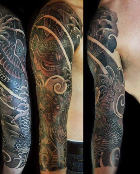 Tatuagens Designs For Men Half Sleeves