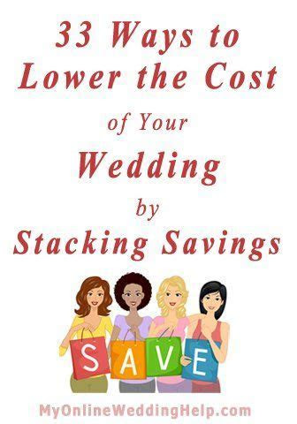 33 Money Saving Ideas for Your Wedding: Reduce Costs by