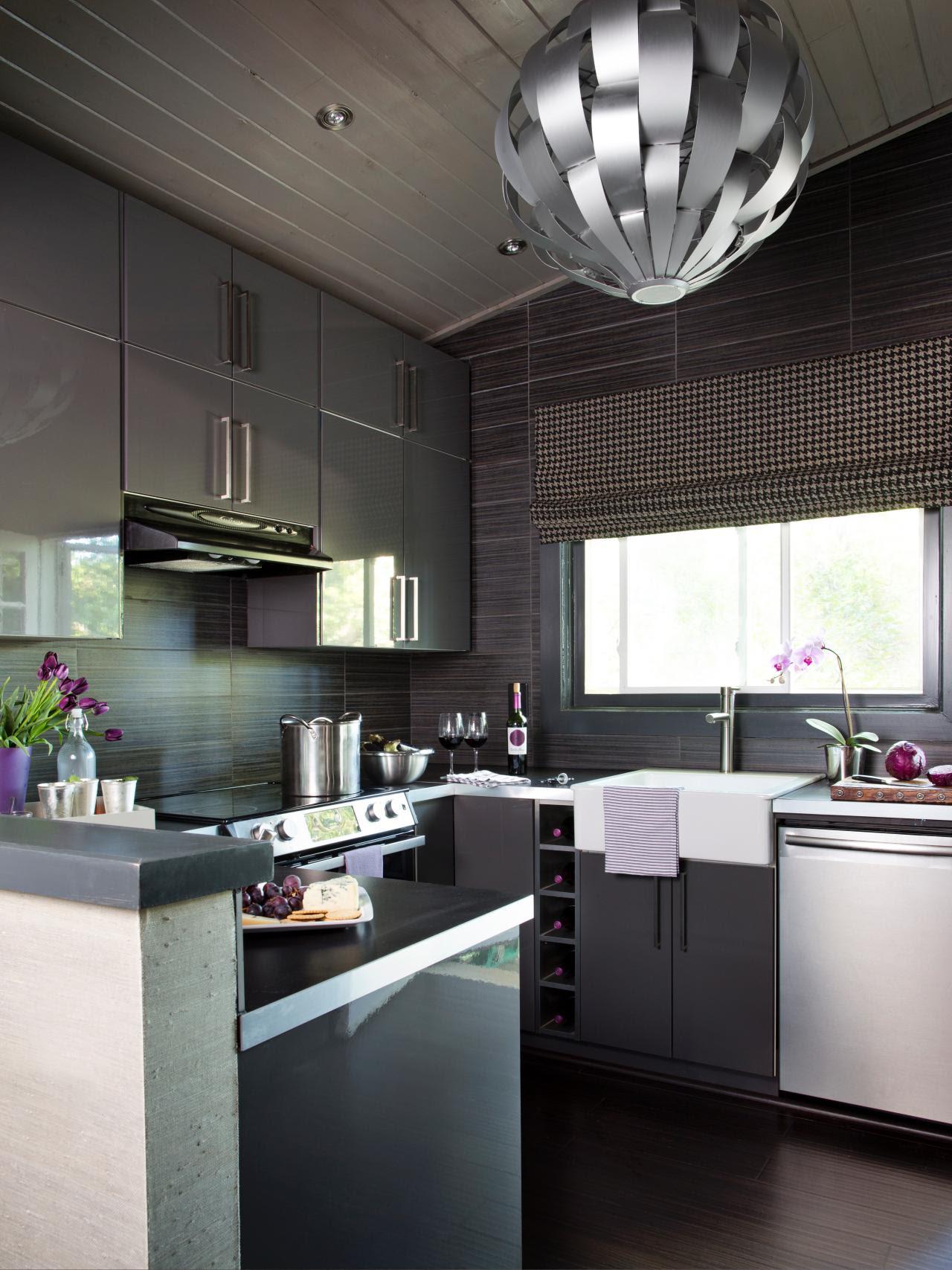 Small Modern Kitchen Design Ideas: HGTV Pictures